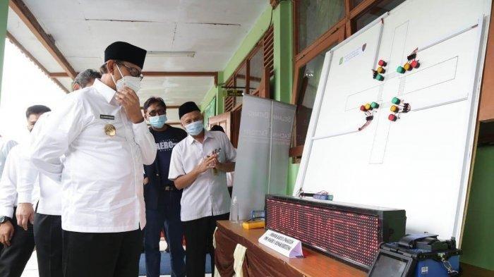 Belajar Tatap Muka Dimulai Juli, Pemprov Banten Gelar Simulasi dan Evaluasi Kesiapan Sekolah