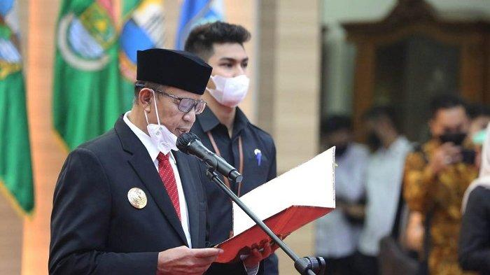 Gubernur Banten Minta Irna Narulita dan Benyamin Davnie Amanah dan Serius Tangani Covid-19