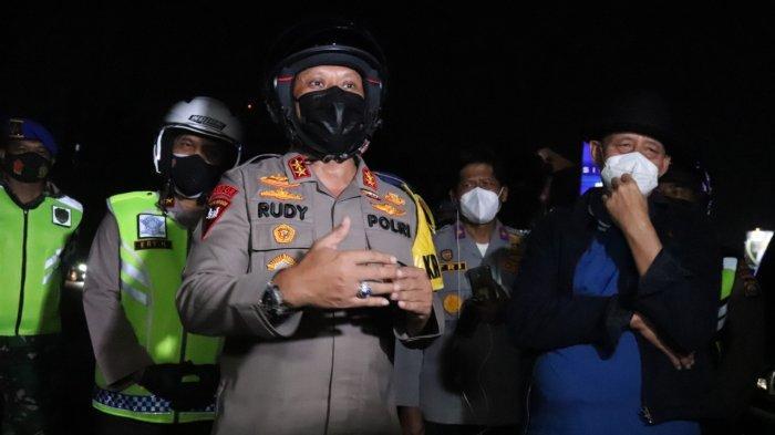 Gubernur Banten, Kapolda, dan Kajati Patroli Bareng PPKM Darurat, Pendekatan Persuasif Tapi Tegas