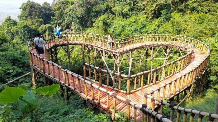 Tempat wisata Gunung Pinang di Kramatwatu, Kabupaten Serang