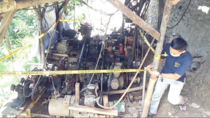 5 Orang Penambang Emas Liar di Gunung Liman Ditangkap Polda Banten