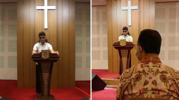 Viral Orasi Gus Miftah di Gereja, Beri Klarifikasi: Saya Hadir Bersama Mas Anies dan Sekjen PBNU