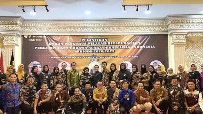 Mengenal HIPAPI, Perkumpulan Pembawa Acara Pernikahan Indonesia, Kini Hadir di Banten