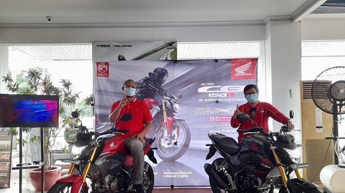Penjualan Motor Sport Honda All New CB150R StreetFire di Banten Ditargetkan Naik 100 Persen