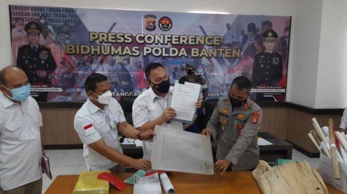 Mafia Tanah di Banten Diringkus, Polisi Periksa Ratusan Dokumen Palsu di Laboratorium