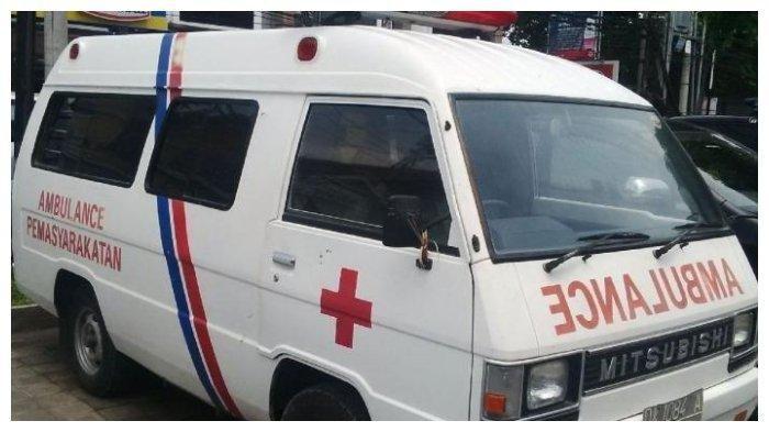 Ilustrasi ambulans