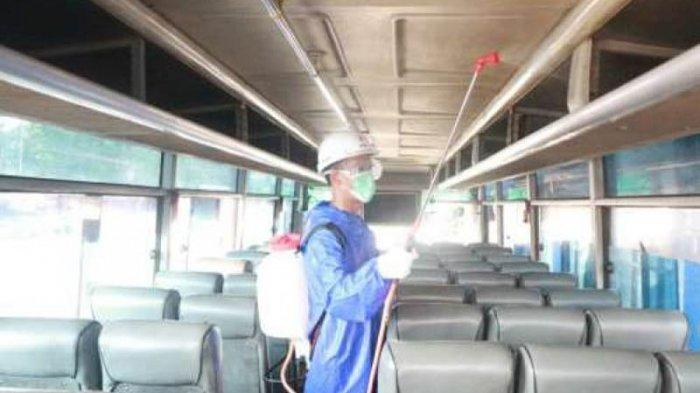 Bus Diberi Izin Operasi Terbatas, Terminal di Kota Serang Masih Sepi