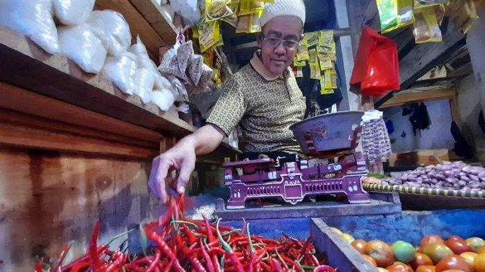 Harga Cabai Rawit di Pasar Badak Pandeglang Melonjak Tajam Hingga Rp 90 ribu per kg