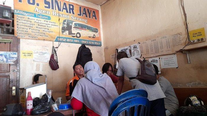 Hari Pertama Kenaikan Harga Tiket di Terminal Pakupatan, Agen: Calon Penumpang Tidak Komplain