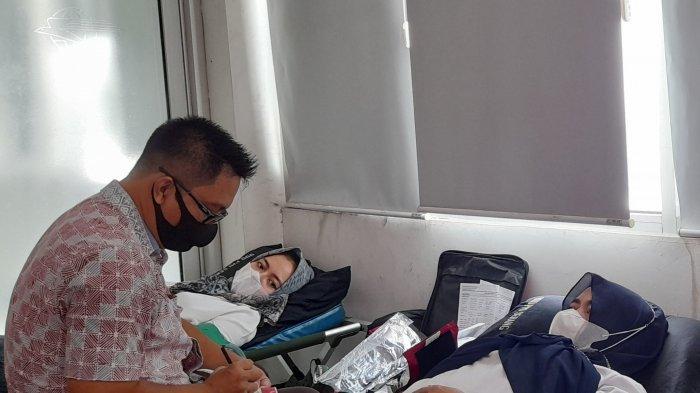 Rayakan HUT ke-275, PT. Pos Indonesia Cabang Serang Gelar Acara Donor Darah