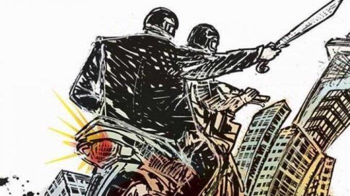 Warga Tangkap Anggota Geng Motor Bercelurit di Kota Tangerang