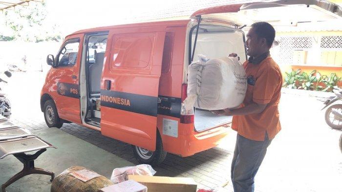 Pengiriman Paket Via Pos Indonesia di Kota Serang Meningkat Jelang Lebaran