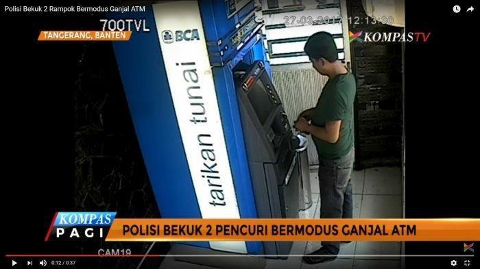 Cara Kerja Modus Ganjal Mesin ATM di Tangerang, Waspadalah!