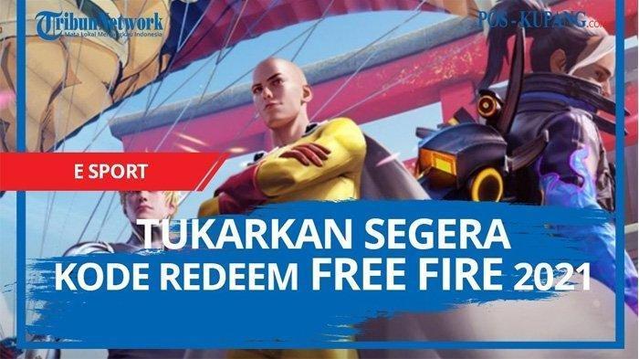 Tukar Kode Redeem Free Fire Kamis 8 April 2021 Klaim Kode Redeem FF Terbaru & Dapatkan Skin Favorit
