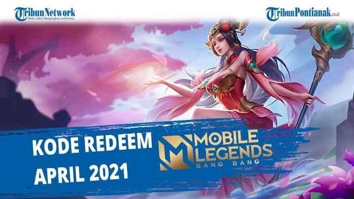 Klaim Kode Redeem Mobile Legends Rabu 21 April, Tukar Kode Redeem ML Terbaru Verifikasi Moonton