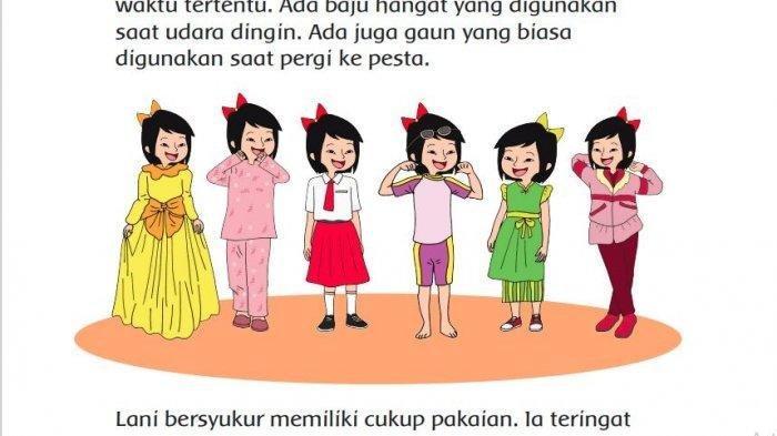 KUNCI JAWABAN Tema 7 Kelas 3 Halaman 95 Amatilah Anak-anak di Sekitar Rumahmu! Apakah Mereka Beragam