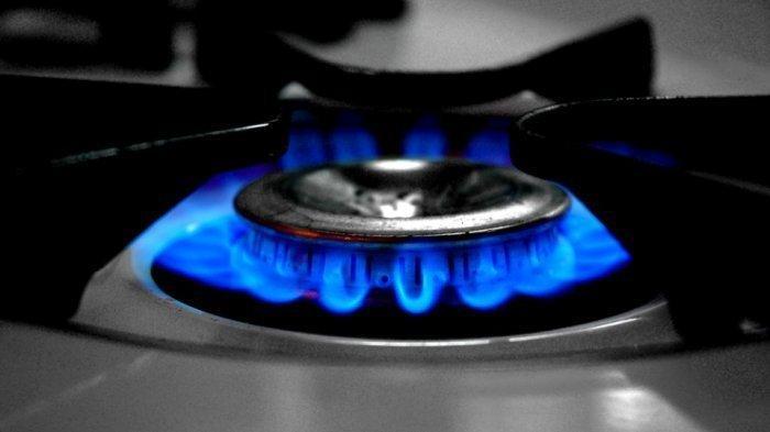 Ilustrasi memasak dengan api kecil