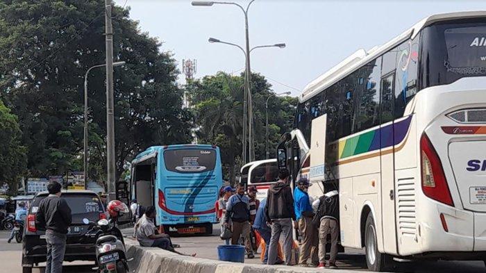 Terminal Pakupatan Serang Masih Beroperasi Layani Penumpang, Protokol Kesehatan Diperketat