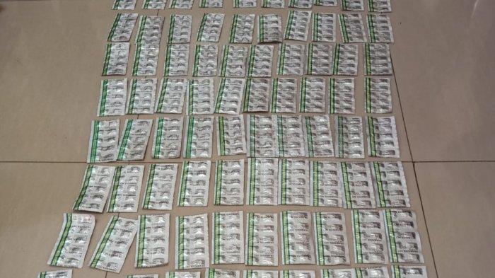 Polres Lebak Bongkar Penjualan Obat Ilegal 1.095 Tramadol