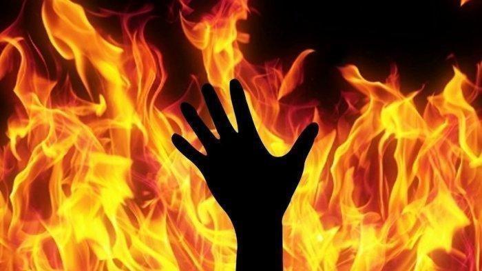 Kronologis Pria Dibakar Hidup-Hidup di Medan, Diwarnai Kisah Cinta