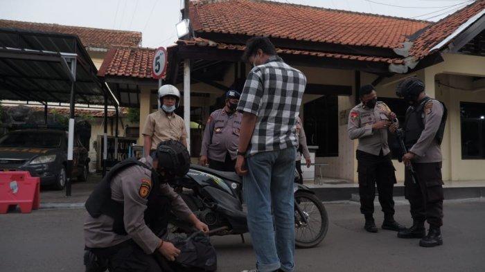 Pasca Penyerangan Mabes Polri, Polres Serang Kota Perketat Penjagaan Markas