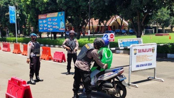 Antisipasi Gangguan Keamanan, Ratusan Personel Gabungan Amankan Pusat Keramaian Kota Serang
