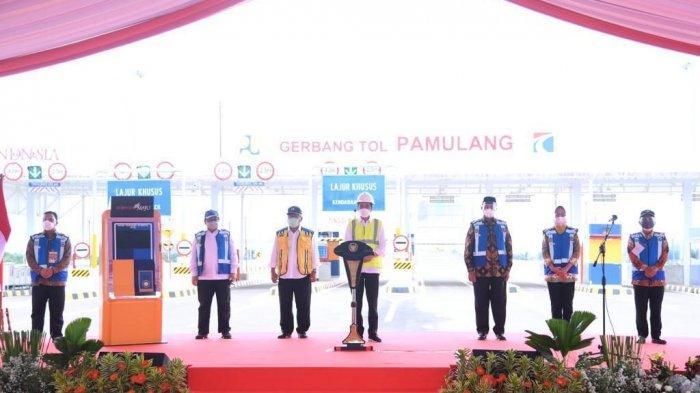 Presiden Resmikan 2 Jalan Tol di Banten, Wahidin Halim: Semoga Bermanfaat Bagi Ekonomi Masyarakat