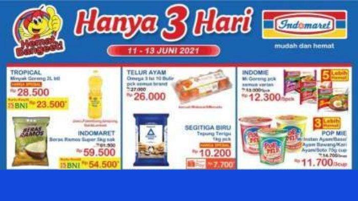 Update Promo JSM Indomaret Terbaru 11-13 Juni 2021, Nikmati Diskon Produk Pilihan Beli 2 Gratis 1