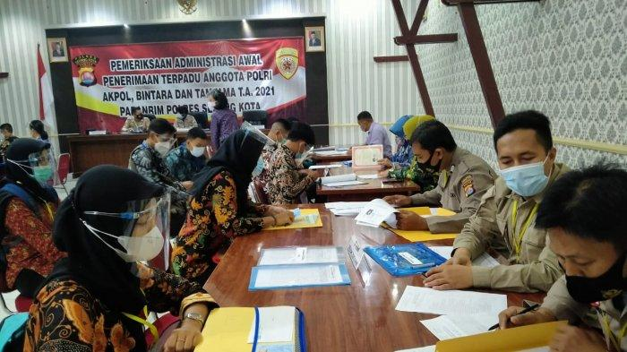 Seleksi Penerimaan Calon Anggota Polri, Polres Serang Kota: Proses Berlangsung Transparan dan Bersih