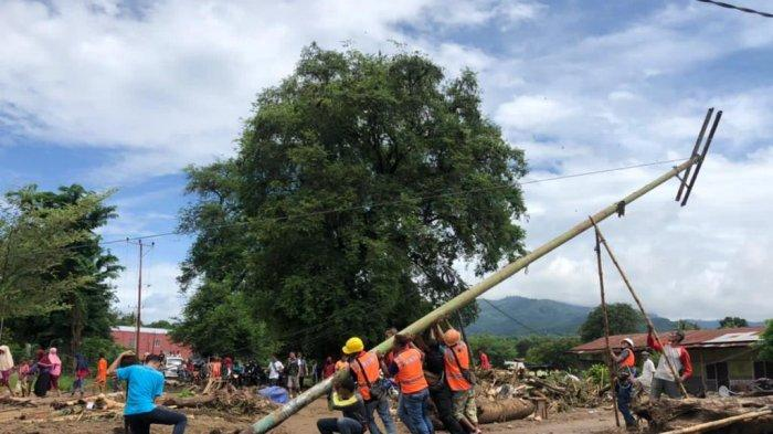 PLN UID Banten Kirim Tim Relawan Bantu Pemulihan Kelistrikan di NTT