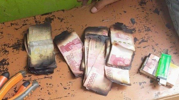 Rumah Kakek Aping Kebakaran, Uang Tunai Rp26 Juta Ikut Ludes Terbakar