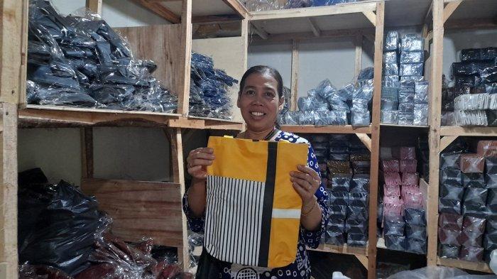 Cerita Perajin Dompet di Kota Serang Bertahan, Beralih Produksi untuk Pertahankan 50 Karyawannya