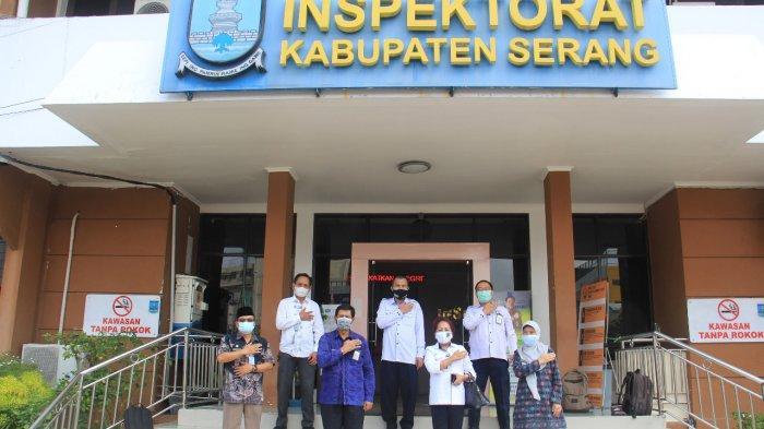 Tak Terhalang Pandemi Covid-19, Inspektorat Kabupaten Serang Terus Tingkatkan Pengawasan