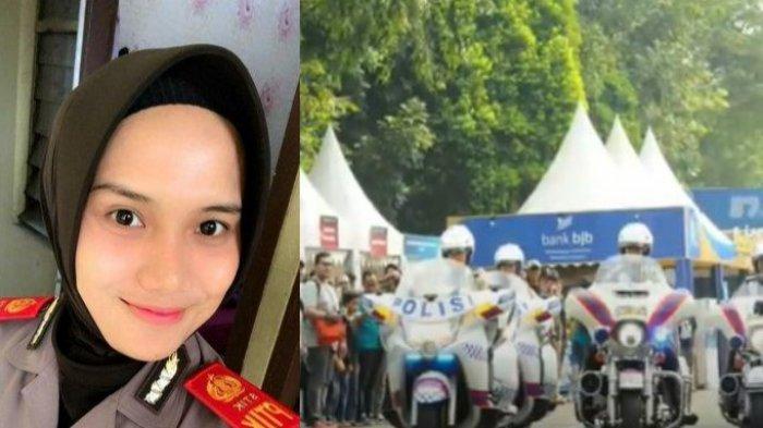 Polwan Cantik Jago Naik Moge yang Dampingi Calon Kapolri ke DPR,Namanya Tak Ada di Daftar Promosi