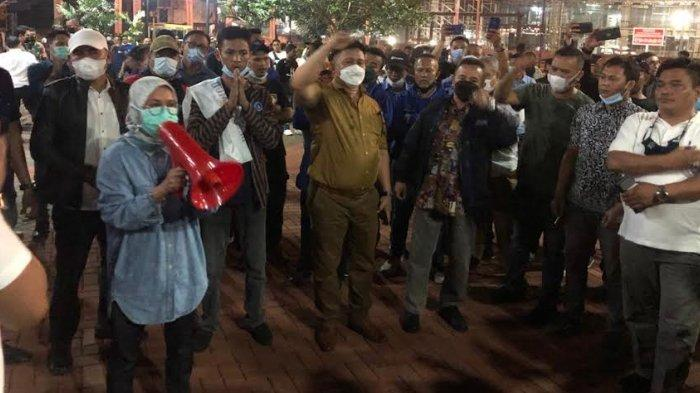 Iti Jayabaya Bubarkan Acara HUT Partai Demokrat Kubu Moeldoko di Tangerang: Ini Banten Bung!
