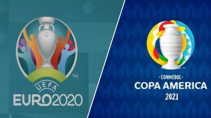 Jadwal Final Euro 2020 dan Copa America 2021 - Laga Panas Inggris Vs Italia dan Brazil Vs Argentina