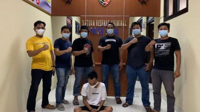 Pelaku Jambret Tas Milik Suami Istri di Jalan Serang-Petir Ditangkap Polisi di Rumahnya