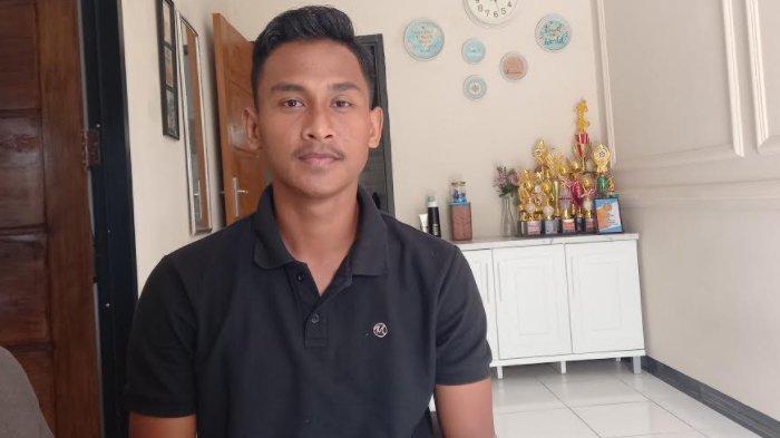 Januar Eka Ramadhan, pesepak bola asal  Cilegon yang terpilih dalam seleksi pemain Rans Cilegon FC