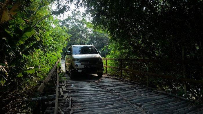 Berdiri 2001, 'Jembatan Piano' di Serang Keluarkan Suara saat Dilalui, Terungkap Fakta Mencengangkan