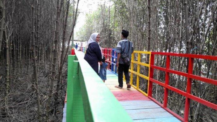 Wisata Jembatan Pelangi di Hutan Mangrove Serang, Sempat Viral dan Kini Masih Jadi Primadona