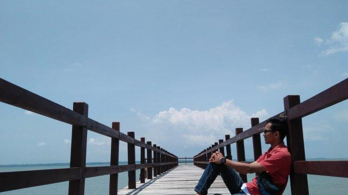 Jembatan yang berada di Taman Jaya Ujung Kulon