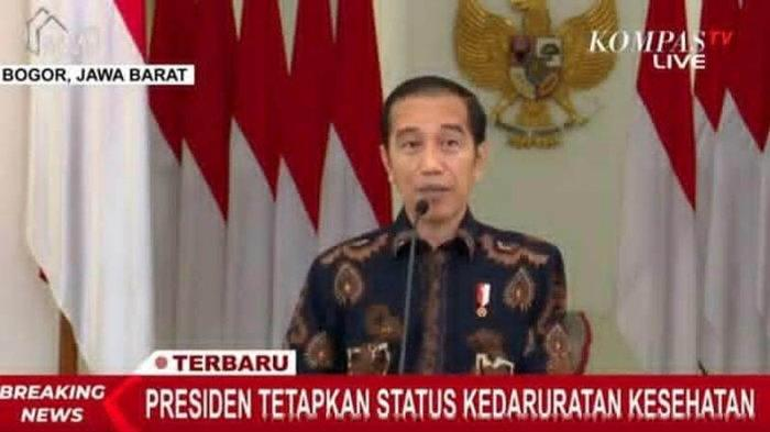 Tak Ada Lockdown, Jokowi Pilih Kedaruratan Kesehatan dan PSBB, Apa Bedanya dengan Karantina ?