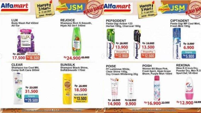 Katalog Promo JSM Alfamart Hanya 3 Hari 9-11 Juli 2021: Diskon Beras - Minyak Goreng Murah Banget