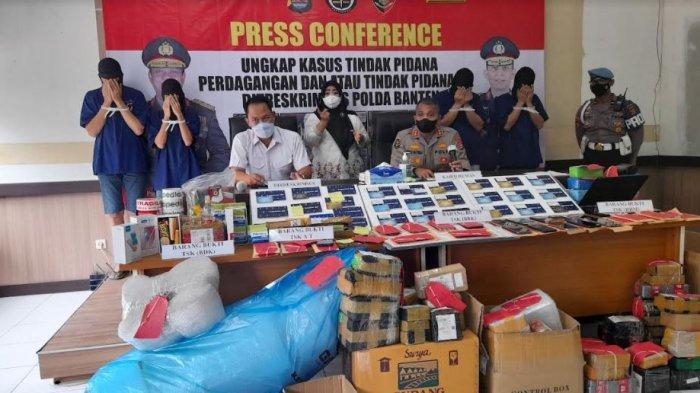 Polda Banten Ungkap Sindikat Jual Beli Fiktif di Online Shop, Satu Pelaku Bisa Kelola 24 Akun Palsu