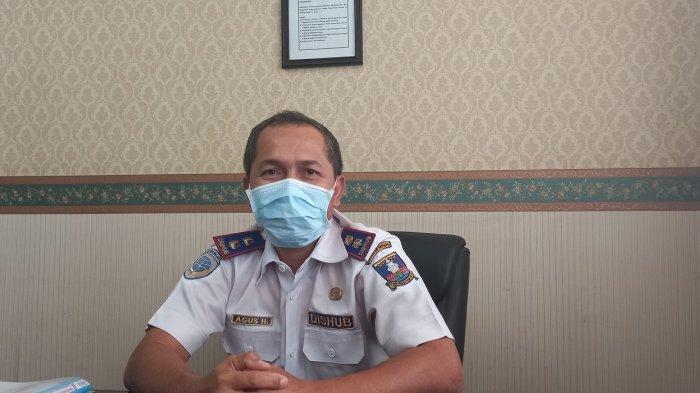 Kabid Angkutan Dishub Kabupaten Serang Agus Herlambang