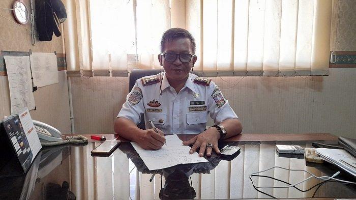 Kabid Teknik Sarana dan Prasarana Dinas Perhubungan (Dishub) Kabupaten Serang, M Edi Firdaus Lutffie