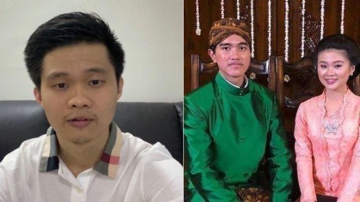 Kakak Felicia Tissue, Daryl angkat bicara soal hubungan antara sang adik dengan anak bungsu presiden RI Jokowi, Kaesang Pangarep