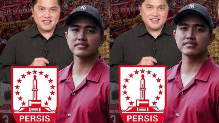 Kaesang Pangarep dan Erick Thohir Resmi Jadi Pemilik Persis Solo