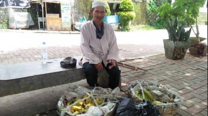 Kisah Kakek 65 Tahun Penjual Pisang Asal Banten, Jalan Kaki Keliling Rangkasbitung Tanpa Lelah