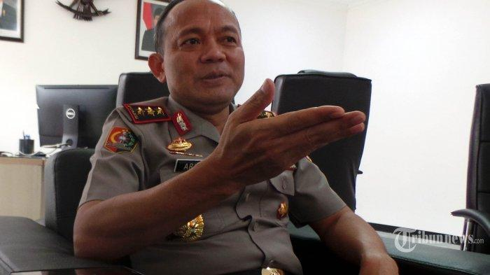 Kalemdiklat Polri Komjen Pol Arief Sulistyanto berbincang terkait pemberhentian 13 Taruna Akpol di Jakarta, Rabu (13/2/2019).